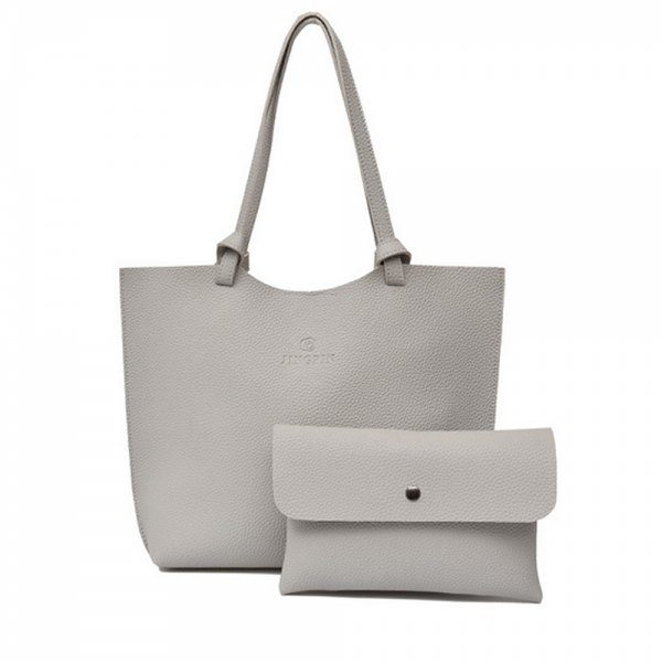 Solid Oyster Color Bag Set